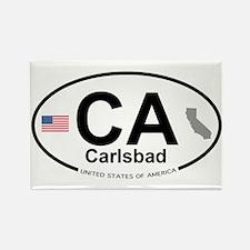 Carlsbad Rectangle Magnet