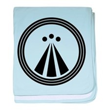 Druid Symbol baby blanket