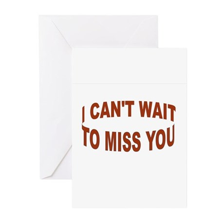 BYE BYE BABY Greeting Cards (Pk of 10)