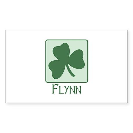 Flynn Family Rectangle Sticker