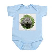Groundhog Eating Infant Bodysuit