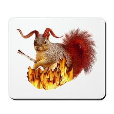 Krampus Squirrel Mousepad