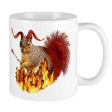 Krampus Squirrel Coffee Mug