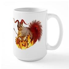 Krampus Squirrel Mug