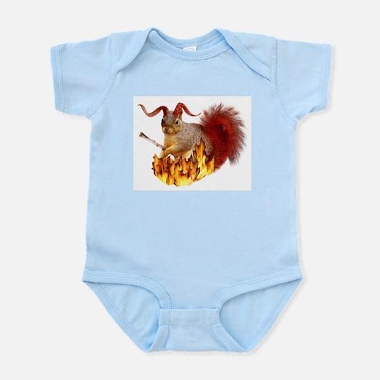 Krampus Squirrel Infant Bodysuit