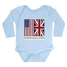 US UK Me Onesie Romper Suit