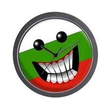 Bulgarian Smile Wall Clock