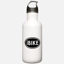 I Bike (Black) Water Bottle