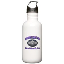 Government Doesn't Work Water Bottle