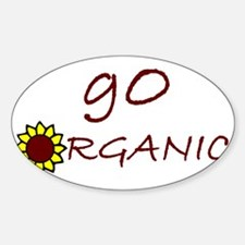 go organic Decal
