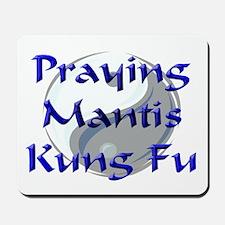 Praying Mantis Kung Fu Mousepad