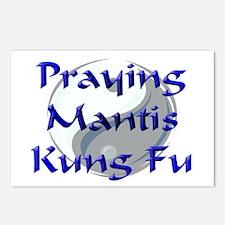 Praying Mantis Kung Fu Postcards (Package of 8)