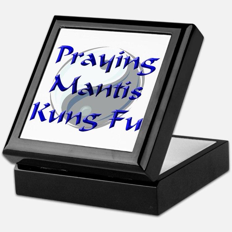Praying Mantis Kung Fu Keepsake Box