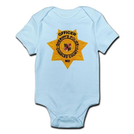 Charles County Sheriff Infant Bodysuit