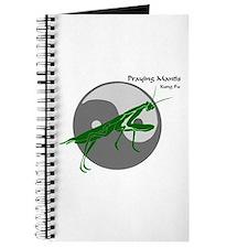 Praying Mantis Kung Fu Logo Journal
