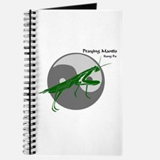 Praying Mantis Kung Fu Logo Journal