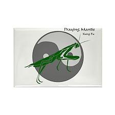 Praying Mantis Kung Fu Logo Rectangle Magnet