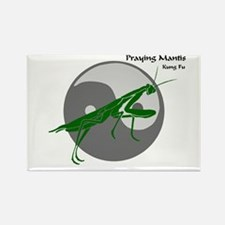Praying Mantis Kung Fu Logo Rectangle Magnet