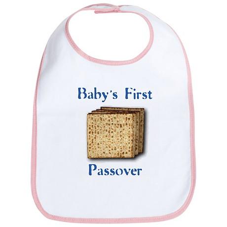 First Passover Bib (blue)