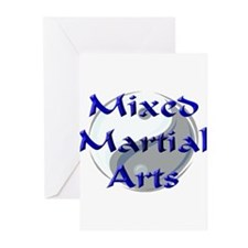 Mixed Martial Arts Greeting Cards (Pk of 10)