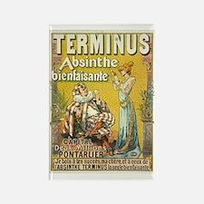Terminus Absinthe Bienfaisante Rectangle Magnet
