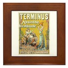 Terminus Absinthe Bienfaisante Framed Tile