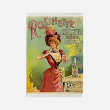 Absinthe Rosinette Rectangle Magnet
