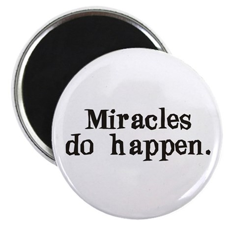 "Miracles 2.25"" Magnet (100 pack)"