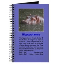 Hippo Unlined Journal
