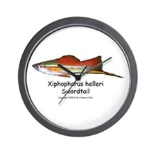 Swordtail Wall Clock