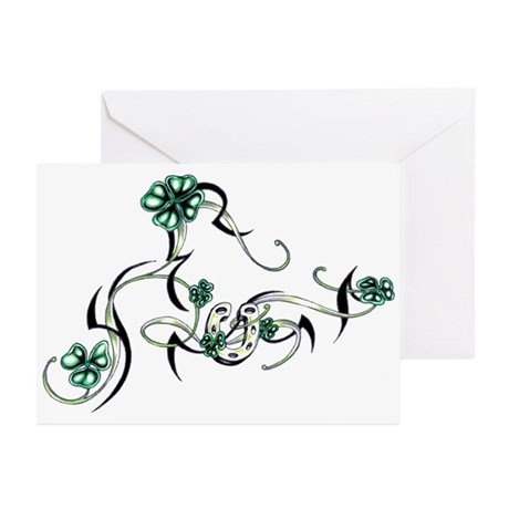 Tribal Irish Design Greeting Cards (Pk of 10)