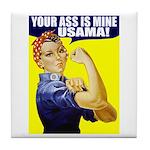 Rosie WantsUsama Tile Coaster