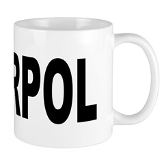 INTERPOL Police Mug