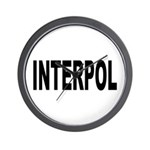 INTERPOL Police Wall Clock