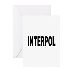 INTERPOL Police Greeting Cards (Pk of 10)