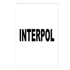 INTERPOL Police Postcards (Package of 8)