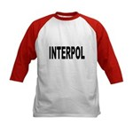 INTERPOL Police (Front) Kids Baseball Jersey