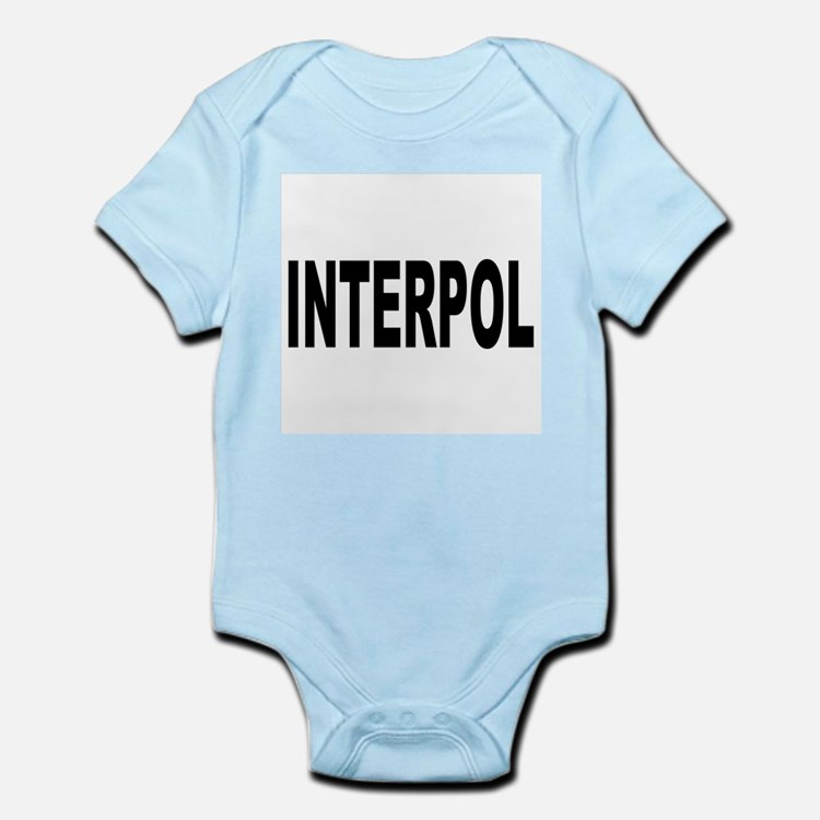 INTERPOL Police Infant Creeper