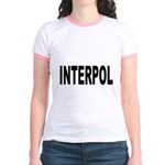 INTERPOL Police (Front) Jr. Ringer T-Shirt