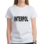 INTERPOL Police (Front) Women's T-Shirt