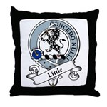 Little Clan Badge Throw Pillow