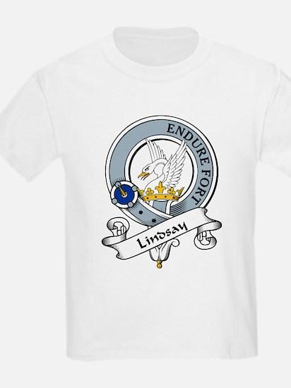 Lindsay Clan Badge Kids T-Shirt