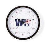 WII Wall Clock (white)