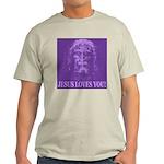 Jesus Loves You! Ash Grey T-Shirt
