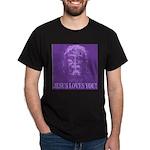 Jesus Loves You! Black T-Shirt