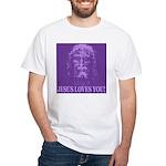 Jesus Loves You! White T-Shirt