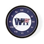 WII Wall Clock (blue)