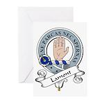 Lamont Clan Badge Greeting Cards (Pk of 10)