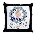 Lamont Clan Badge Throw Pillow