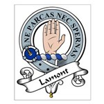Lamont Clan Badge Small Poster